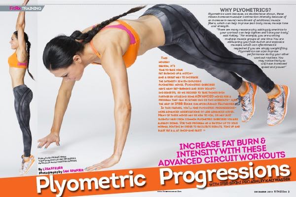 """Plyometric Progressions with IFBB Bikini Pro Ashley Kaltwasser"""