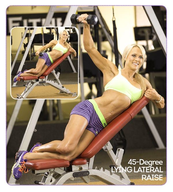 45-DEGREE LYING LATERAL RAISE