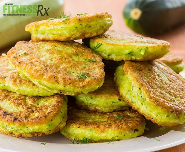 Light n' Easy Zucchini Pancakes