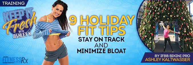 9 Holiday Fit Tips