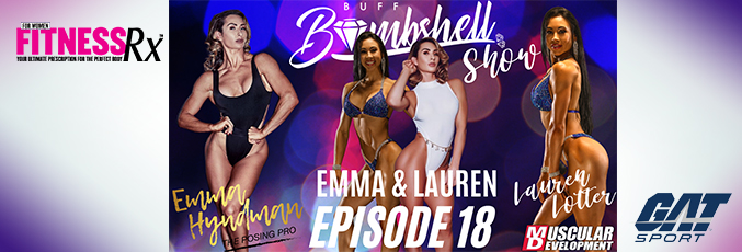Buff Bombshell Show, Episode 18