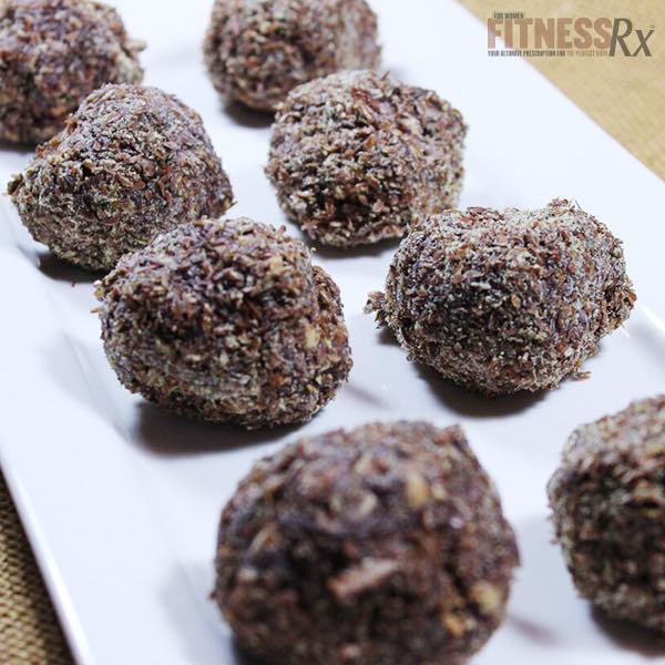 Coconut Biscotti Protein Balls