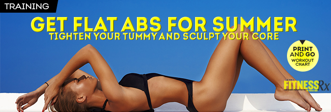 Get Flat Abs for Summer