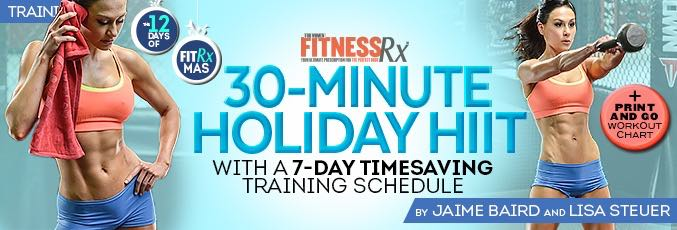 30-Minute Holiday HIIT