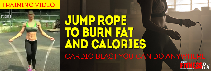 Jump Rope to Burn Fat and Calories