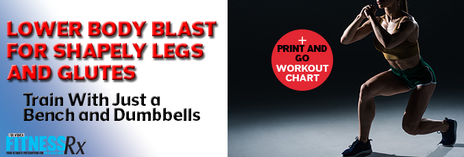 Lower Body Blast for Shapely Legs and Glutes
