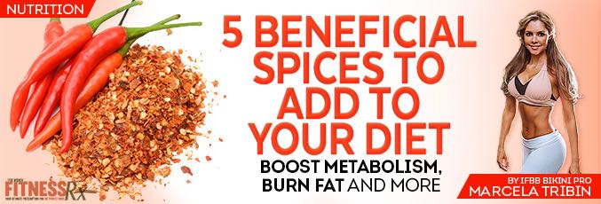5 Beneficial Spices to Add to Your Diet