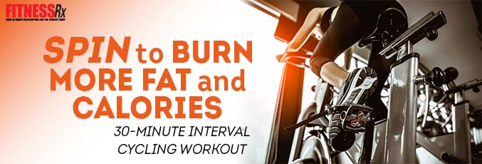 Spin to Burn More Fat and Calories