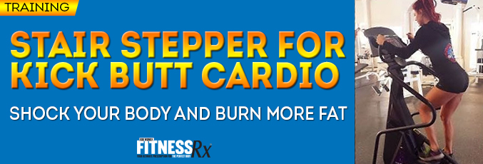 Stair Stepper for Kick Butt Cardio