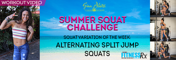 Gina Aliotti's Summer Squat Challenge