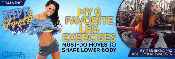 My 6 Favorite Leg Exercises