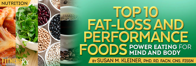 Top 10 Fat-loss and Performance Foods