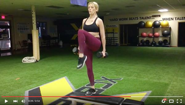 Elevated Lunge to Step-Up