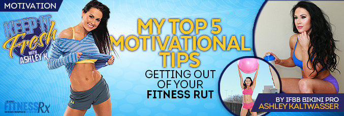 My Top 5 Motivational Tips