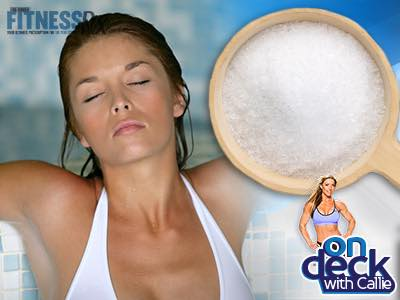 Recover with an Epsom Salt Bath