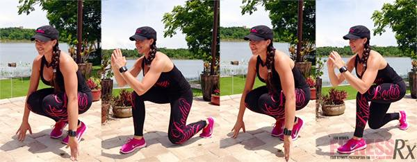 Quad BURN Lunges