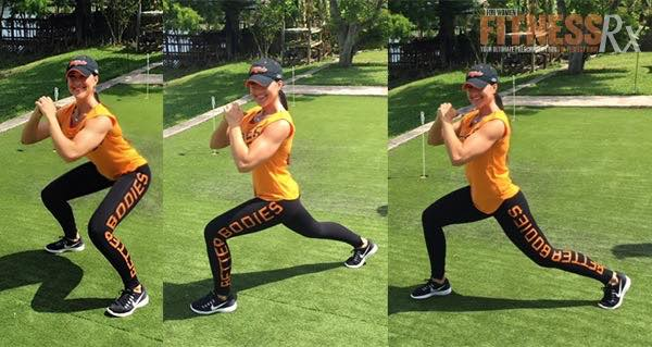 Squat/Reverse Lunge Combo