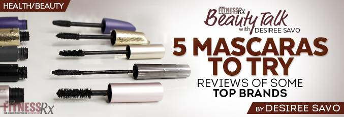 5 Mascaras To Try