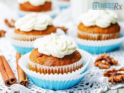 Skinny Carrot Cupcakes
