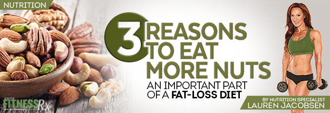 3 Reasons To Eat More Nuts