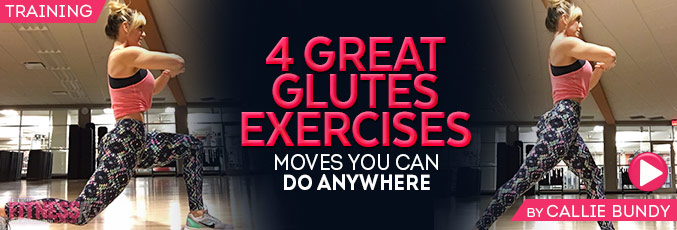 4 Great Glutes Exercises