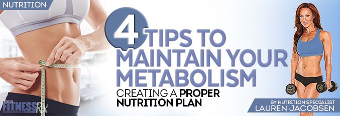 4 Tips to Maintain Your Metabolism