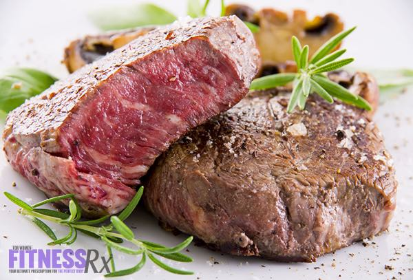 5 Best Muscle-Building Foods For Women - Red Meat