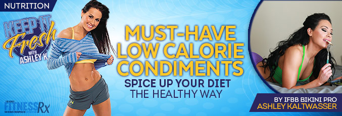 Must-have Low-Calorie Condiments