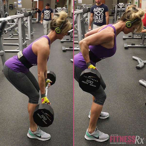 Build Your Back with Barbell Rows