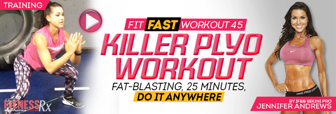 Fit Fast Killer Plyo Workout