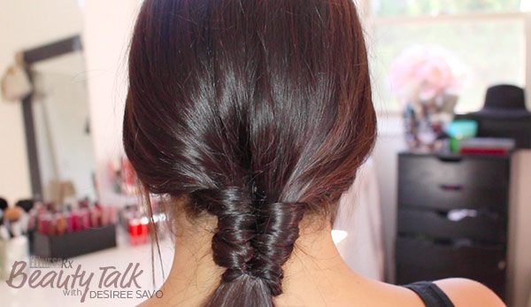 How To Do a Figure 8 Ponytail