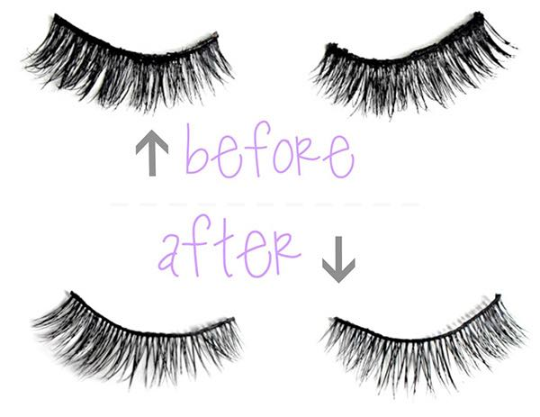 How to Clean Your False Eyelashes