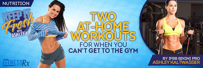 Two At-Home Workouts