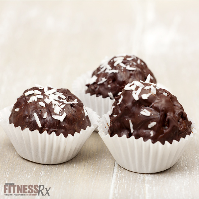 Chocolate Coconut Rice Truffles