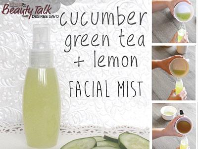 DIY Cucumber Facial Mask