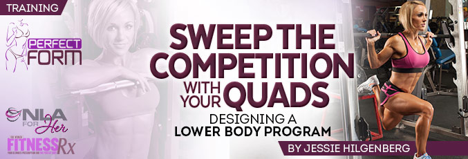 Sweep The Competition With Your Quads