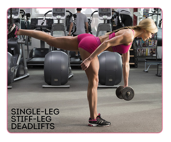 Single-leg Stiff-leg Deadlifts