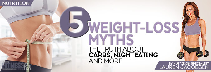 5 Weight-Loss Myths