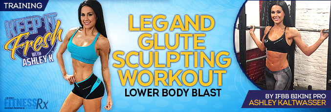 Leg and Glute Sculpting Workout
