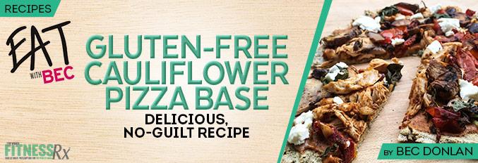 Gluten-Free Cauliflower Pizza Base