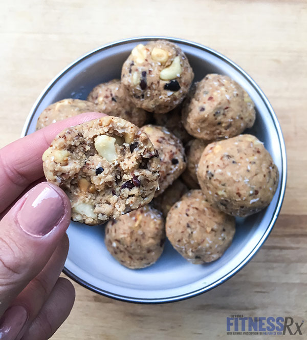 Peanut Chocolate Chip Cookie Dough Bites