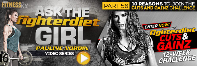 Ask The Fighter Diet Girl Pauline Nordin - Video 58