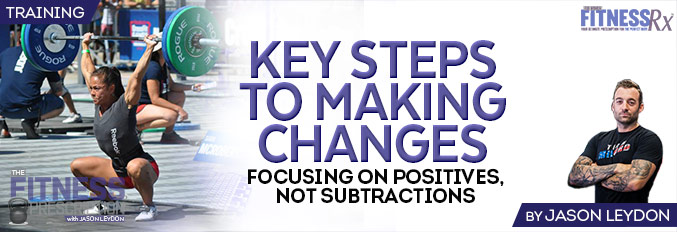 Key Steps To Making Changes