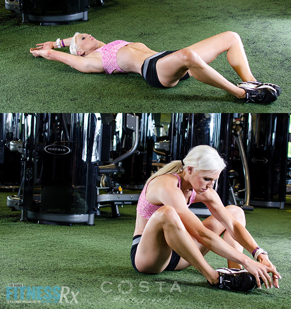 Carve Your Physique - Diamond Sit-ups