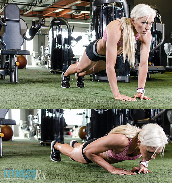 Carve Your Physique - Diamond Push-ups
