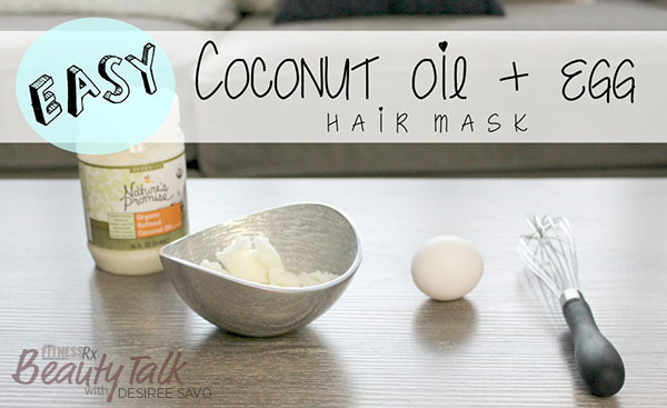 DIY Coconut Oil Hair Mask