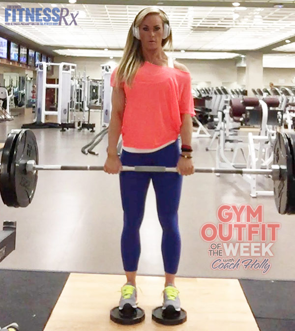 Gym Outfit Of The Week With Coach Holly - lululemon, gap athletic and new balance