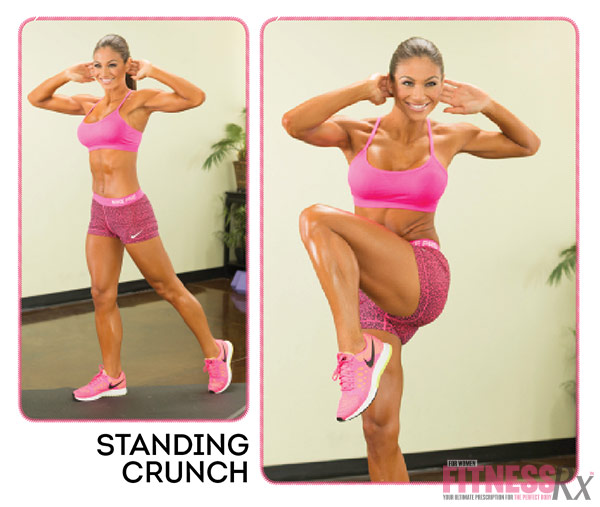 Get Waisted with Bikini Pro Janet Layug - Standing Crunch