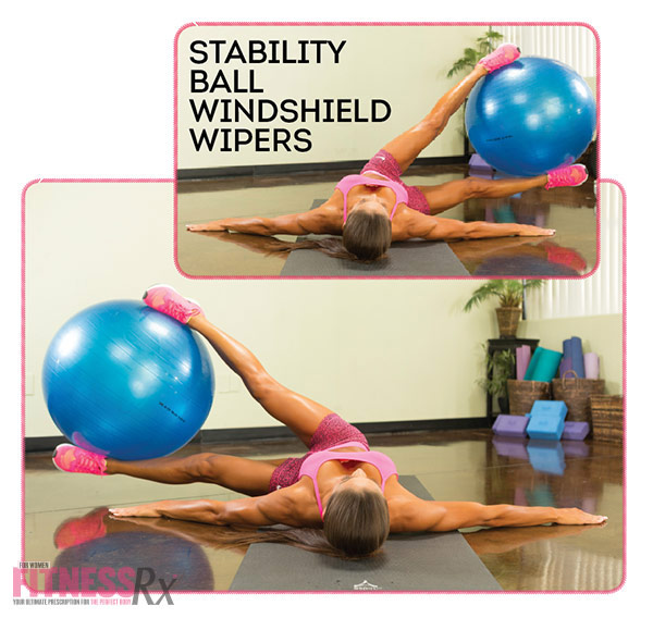 Get Waisted with Bikini Pro Janet Layug - Stability Ball Windshield Wipers