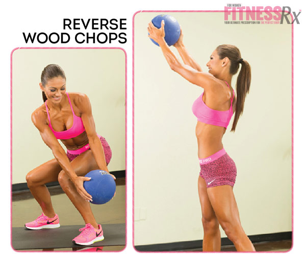 Get Waisted with Bikini Pro Janet Layug - Reverse Wood Chops